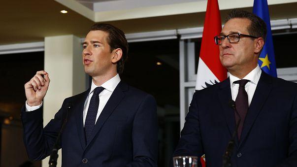 Beiktatták hivatalába az új osztrák kormányt