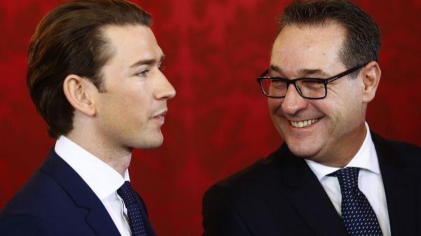 Toma posse novo governo austríaco