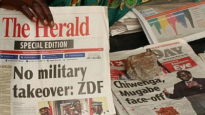 Zimbabwe military declares war on corruption