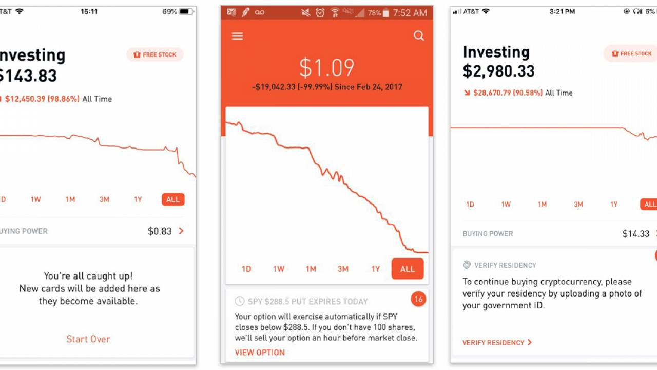 With confetti and push notifications, stock app Robinhood nudges investors toward risk