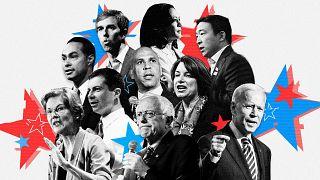 Image: Tonight's debate will feature Democratic candidates Beto O'Rourke, K