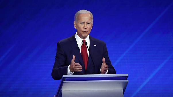 Image: Democratic Presidential Candidates Participate In Third Debate In Ho