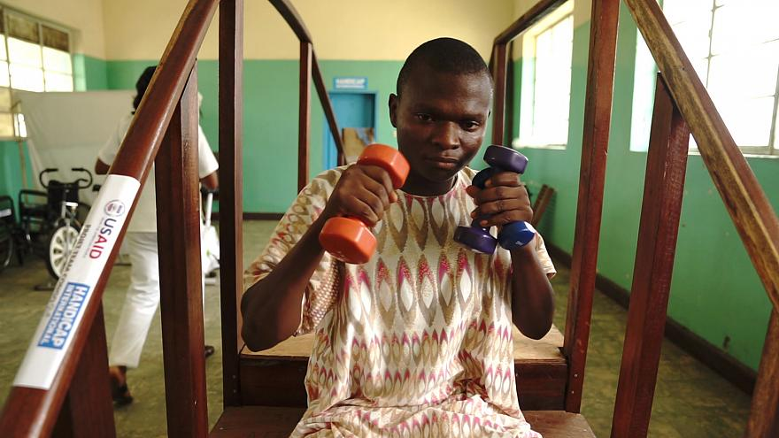 Recovering after trauma in DR Congo: Chrispin's story