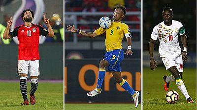 Mane, Aubameyang, Salah: Contenders for CAF best footballer of 2017
