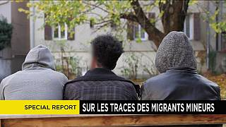The plight of child migrants in Briancon