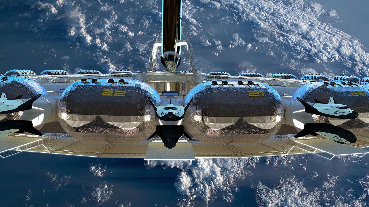 Image: Von Braun space station