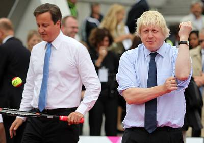 Johnson and Cameron have a shared history, but their friendship was strained after Johnson decided to back Britain leaving the E.U. and became the main face of the successful Brexit campaign.