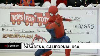 Pókember segít a beteg gyerekeknek