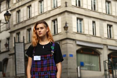 Isabelle Axelsson, 18, of Sweden has been walking out class weekly since December 2018 as part of the Fridays For Future strikes against climate change.