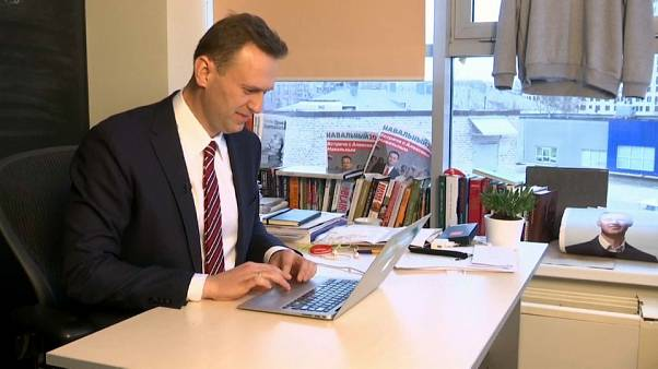 Russian opposition leader complains of interference