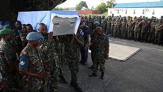 """Casques bleus tués en RDC : """"pas d'impunité"""" promet l'ONU"""