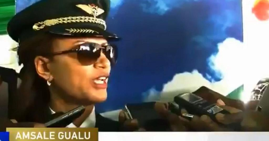 Ethiopian Airlines pilot who led all female intra-African