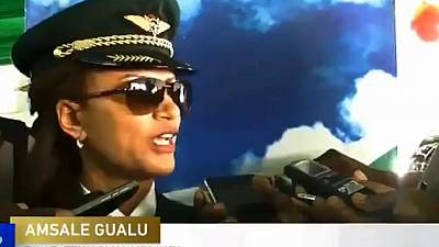 Ethiopian Airlines pilot who led all female intra-African flight happy over feat