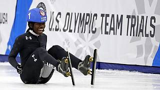 Ghanaian-born speed skater is first black woman to make U.S. Olympic Team