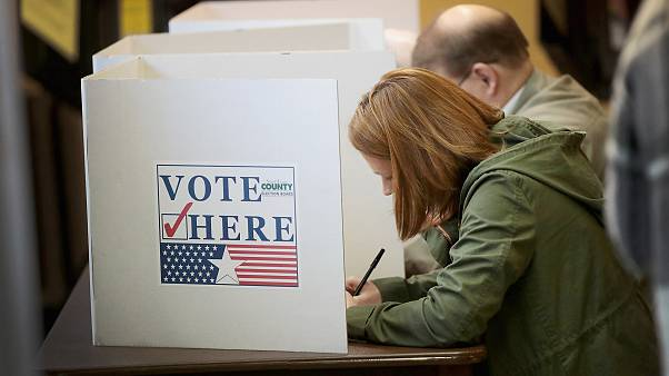 Image: Voters Across The Country Head To The Polls For The Midterm Election