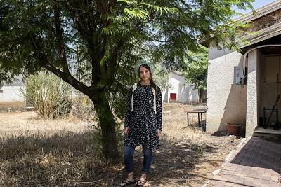 Hodaya Kerman lives in Haspin, in the Golan Heights. She and her husband would like to settle in Trump Heights.