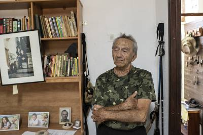 Ganadi Pherlman, an 83-year-old Russian immigrant who has lived in the half-forgotten hamlet where Trump Heights is slated to be built, is looking forward to seeing more life in his eerily quiet village.