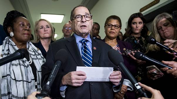 Image: House Judiciary Committee Chairman Jerry Nadler speaks to reporters