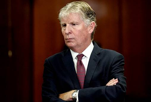 Image: Manhattan District Attorney Cy Vance attends a news conference in Ne