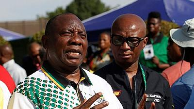 South Africa's new party leader: Graft must end