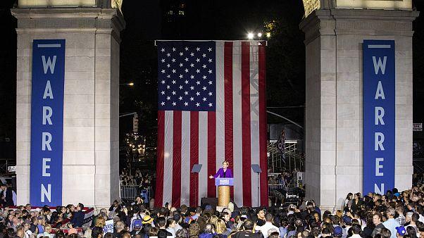Image: 2020 Democratic presidential candidate Sen. Elizabeth Warren (D-MA)