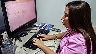 Colombian visually impaired women help detect breast cancer
