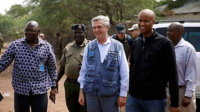 UN Refugees chief calls for more support for Somali government