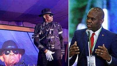 [Photos] Top Nigerian business exec recreates Michael Jackson at Xmas party