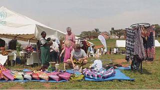 Ouganda : le marché de noël des réfugiés