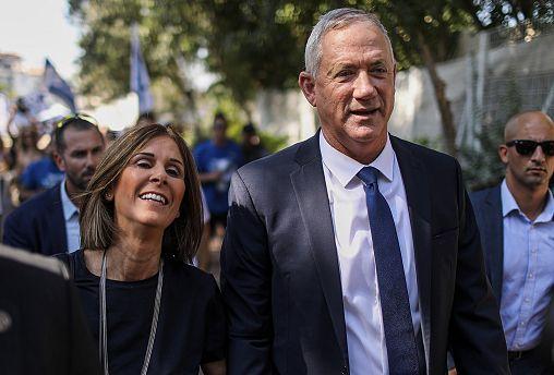 Image: Israeli election day