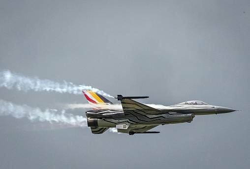 Image: Belgian F16 fighter