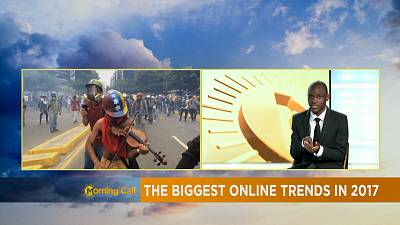 What has Africa been searching online in 2017? [The Morning Call]