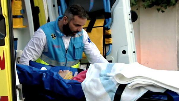Espagne : des dizaines de blessés lors d'un accident en gare