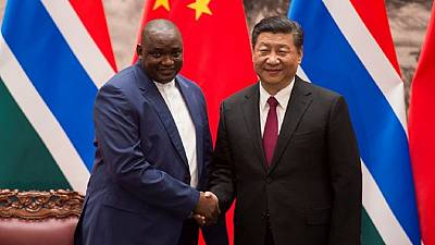 Dégel diplomatique : le président gambien Adama Barrow en visite en Chine