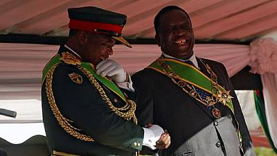 Zimbabwe's former military chief gets political promotion