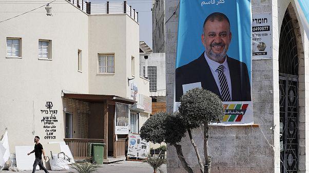 Image: CORRECTION-ISRAEL-ARAB-VOTE