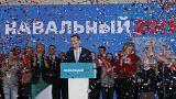 Navalny rechaza su exclusión de las elecciones rusas