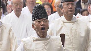 Japonya: Osaka'da yüksek sesle gülme etkinliği