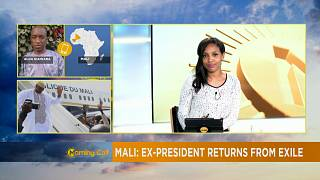 Mali's ousted former leader Amadou Toure returns from exile [The Morning Call]
