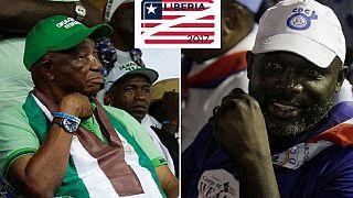 Liberia : Weah et Boakai affichent leur confiance en la victoire