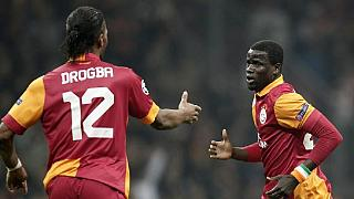 Relieved Eboue thanks Galatasaray and 'dad' Fatih Terim for job offer