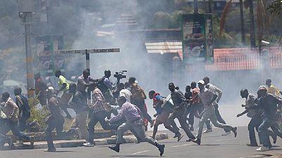 [Photos] A year of protests: Togo, Zimbabwe, Ethiopia, Cameroon etc.