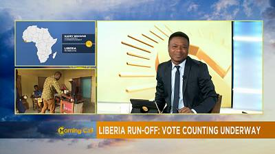 Vote count underway in Liberia's presidential election