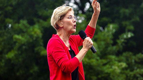 Image: Elizabeth Warren, U.S. Senator and Democratic presidential hopeful,