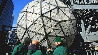 NYC unveils new serenity design for New Year's Eve ball