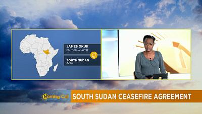 South Sudan ceasefire agreement [The Morning Call]