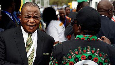 General who led Mugabe ouster sworn in as Zimbabwe veep