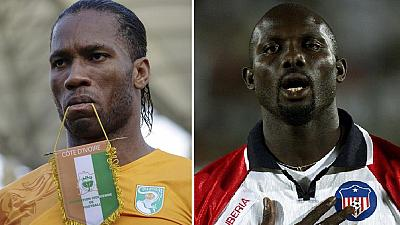 Weah gives Drogba a political 'pass': 'Follow the same path'
