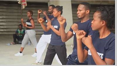 Nigerian women learning martial art for self defence | Africanews
