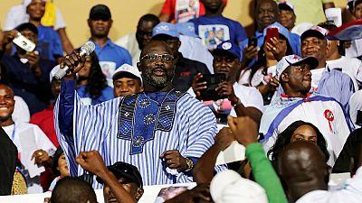 Liberia : large victoire de l'ex-footballeur George Weah au second tour de la présidentielle (résultats quasi complets)